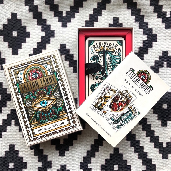 SOLD! Tattoo Tarot Ink & Intuition Cards